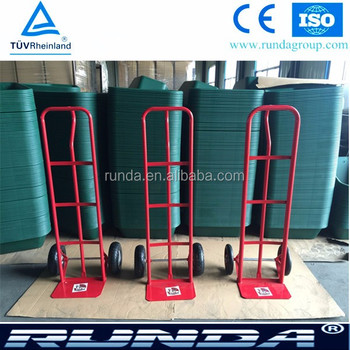 different loading weight hand pull trolley