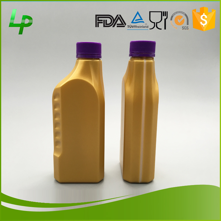 Alibaba Best Sellers 1000ml Plastic HDPE Recyclable Engine Oil Bottle
