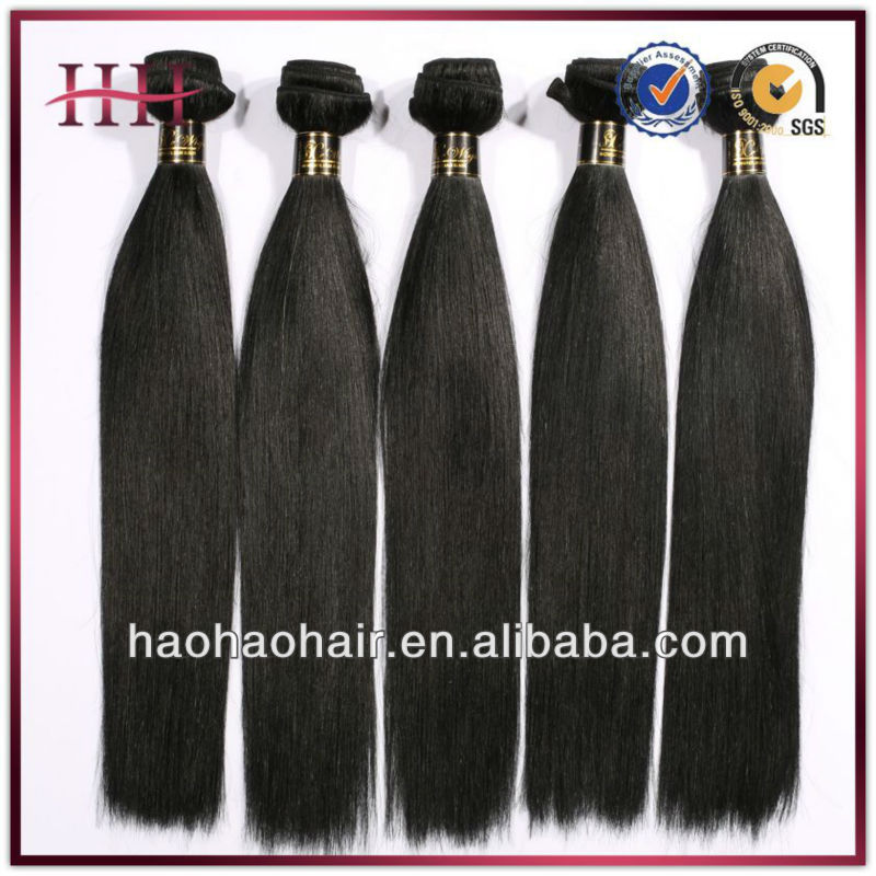 10 12 14 16 18 20 22 24 26 28 30 inch virgin remy brazilian hair weft grade 5A quality 100% virgin human hair weft