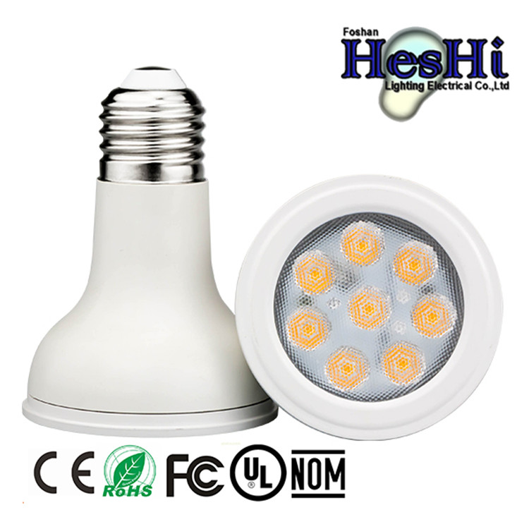 UL listed 8w led par20 85-265v SMD led lamp par20 with 3 year warranty