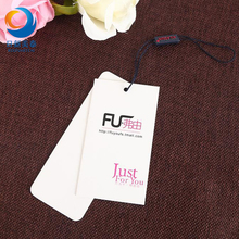 Beautiful and Custom Printed Garment Clothing Hang Tags and Jeans Paper Hang Tags with Nice Price