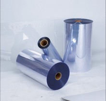 Virgin Materials Clear Glossy PVC Sheet Roll For Printing