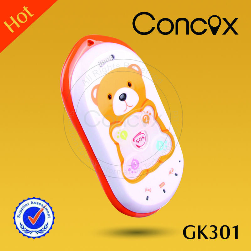 Hot sale! Concox child care gps phone GK301
