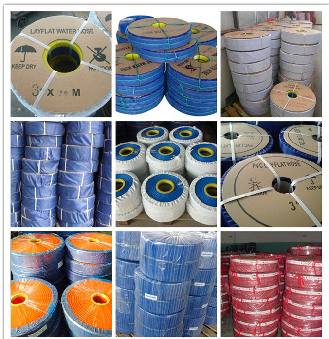 50mm 150mm pvc lay flat water delivery pipe