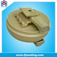 D155 chassis parts earthmoving chain idler wheels
