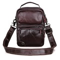 1010C JMD Tanned Genuine Leather Handbag Durable Leather Messenger Bag