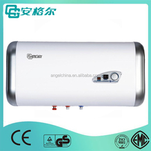 factory price horizontal flat shape wall mounted hot water heater with digital dispaly ce certification