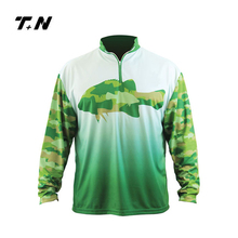 Custom fishing clothing sublimated free design