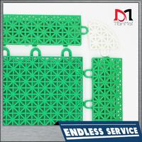 PP Interlocking Plastic Garage Floor Tiles for Car Show