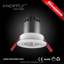 2 inch 60mm cutout 8W recessed LED downlight adjustable 10W cob downlight