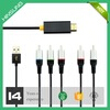 new premium YPbPr + R + L audio input HDMI output HDMI to RCA conversion Cable