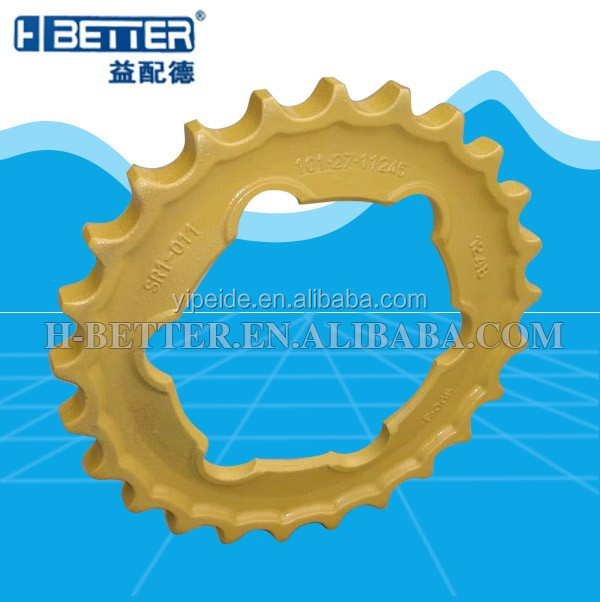 Bulldozer shantui sd32 sprocket segments