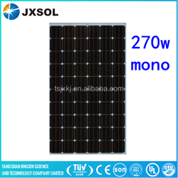 60 cells high efficency top quality 270w mono solar panel for solar energy system