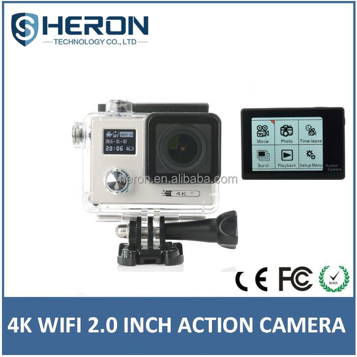 2Inch double screen 4K HD sj4000 sport action camera / A7 Diving 30M action camera gopros