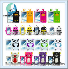 3D Silicone Soft Animal Case For Samsung Galaxy Note 2 N7100