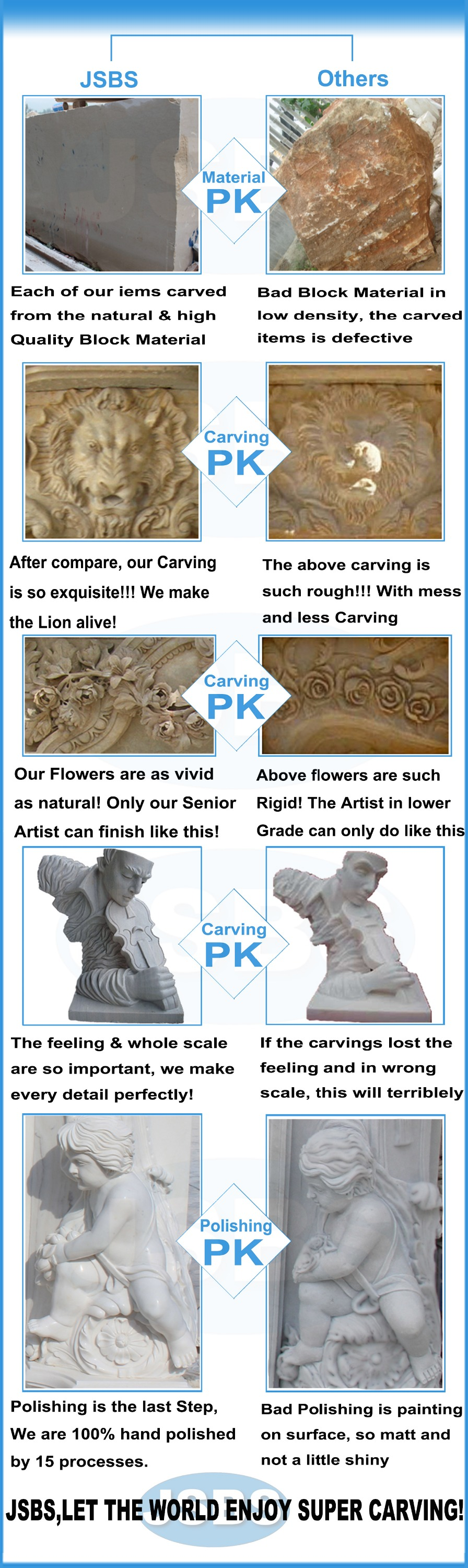 customize marble carved abstract family sculpture