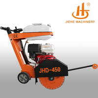 New design asphalt concrete concrete groove cutter road cutting machine saw(JHD-450K)