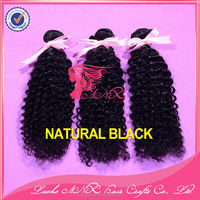 ANX top quality factory wholesale price 100% unprocessed Peruvian virgin human hair natural kinky curly weaves
