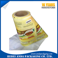 USA new products plastic packaging for noodles /instant noodles packaging material / dry noodles plastic film roll