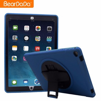 Unique Design 360 Degree Rotating hand strap shockproof kickstand case cover for ipad pro 12.9 inch for ipad case