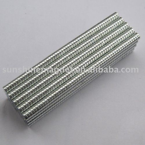 strong permanent small round magnet D2,D3,D4,D5,D6...
