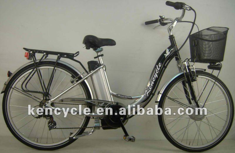 26 inch electric bike brushless motor Lithium battery/street electric bike/E-bike/Alloy frame electric bike(SY-EB2601)