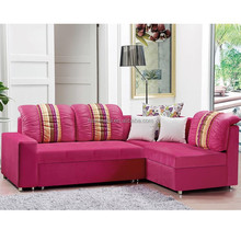 Modern fabric sofa Corner Sofa Cum Bed with Storage beautiful sofa