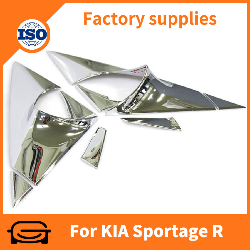 Auto cover car chrome window trim A-pillar cover for K-I-A Sportage R 2010-