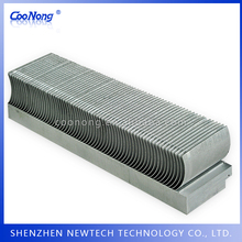 Skived fin T3 T5 T6 custom aluminum car/industry/electronic cooling heatsinks