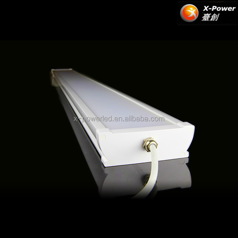 High quality IP65 led tri-proof batten light saa led 4foot shop lighting with 5 years warranty