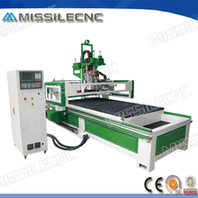 Jinan HSD spindle wood cnc router machines used in furniture making