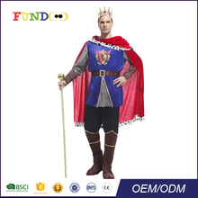 Newest Top Sale funny cosplay Party Carnival adult mans king costume