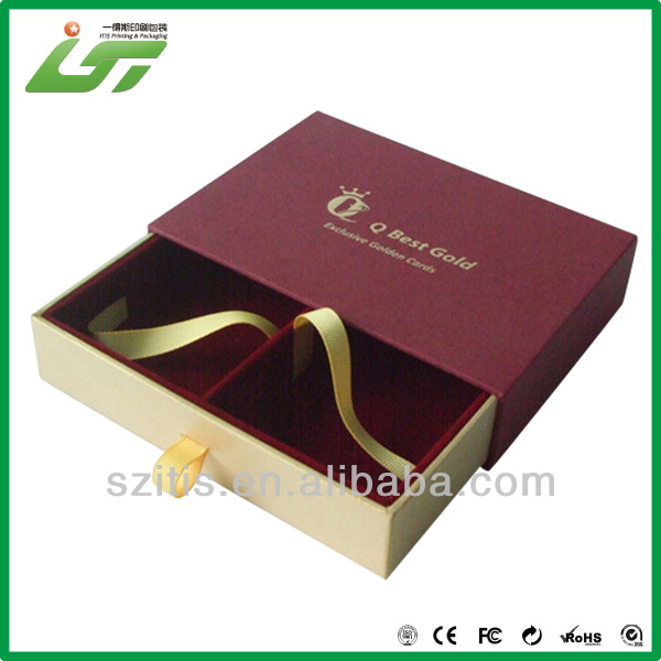 high quality customized decorative paper covered boxes with competitive price
