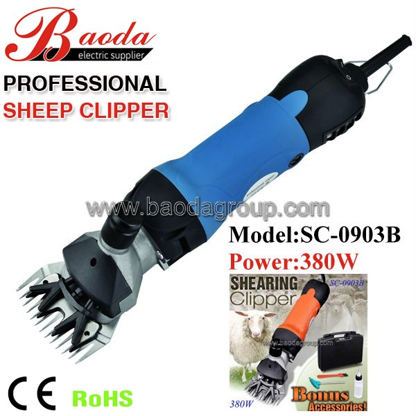 2016 hot selling electric sheep shears/sheep clipper