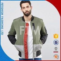 Professional Manufacturer OEM plain baseball jacket