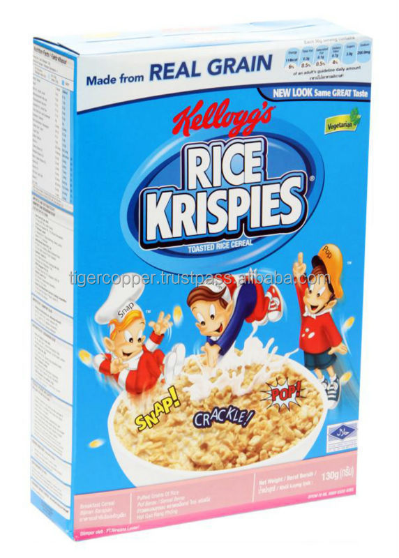 KELLOGGS RICE KRISPIES BREAKFAST CEREAL