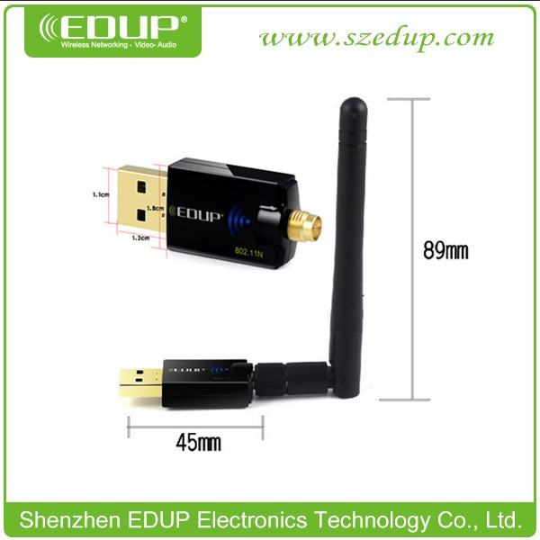 wifi usb Dongle 300Mbps EP-MS1559 With Chipset Realtek RTL8192cu Wireless wifi USB Donglewifi usb adapter with External Antenna