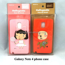 Silicone Phone Case for Galaxy Note 4