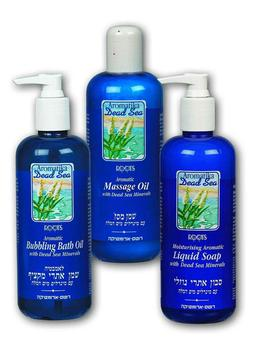 Dead Sea Spa & Bath Products With Aromatic Oils
