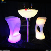led cocktail table/led bar furniture