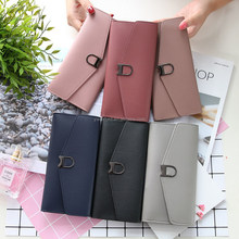 Women's Fashion Wallet With Many Card Pocket Wholesale Cheap Purse with metal buckle