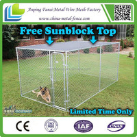 Alibaba China - DOG KENNEL METAL Crate OUTDOOR Pet House Large CHAIN LINK Exercise Pen Training