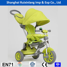 2016 high quality kids tricycle 4 in 1 trike/child pedal car/cheap kids tricycle