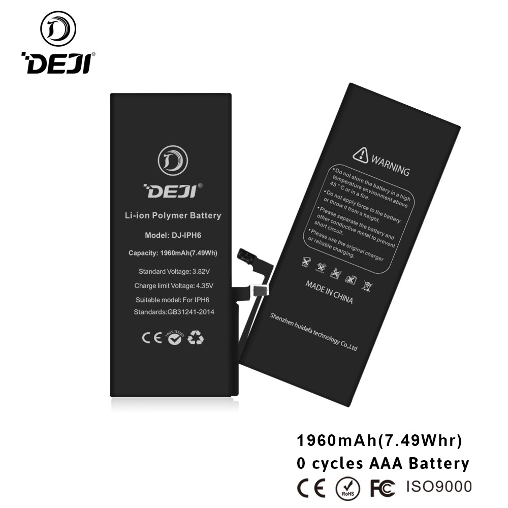 Wholesale Low Price gb t18287-2000 compatible battery For Iphone 6 6g in stock