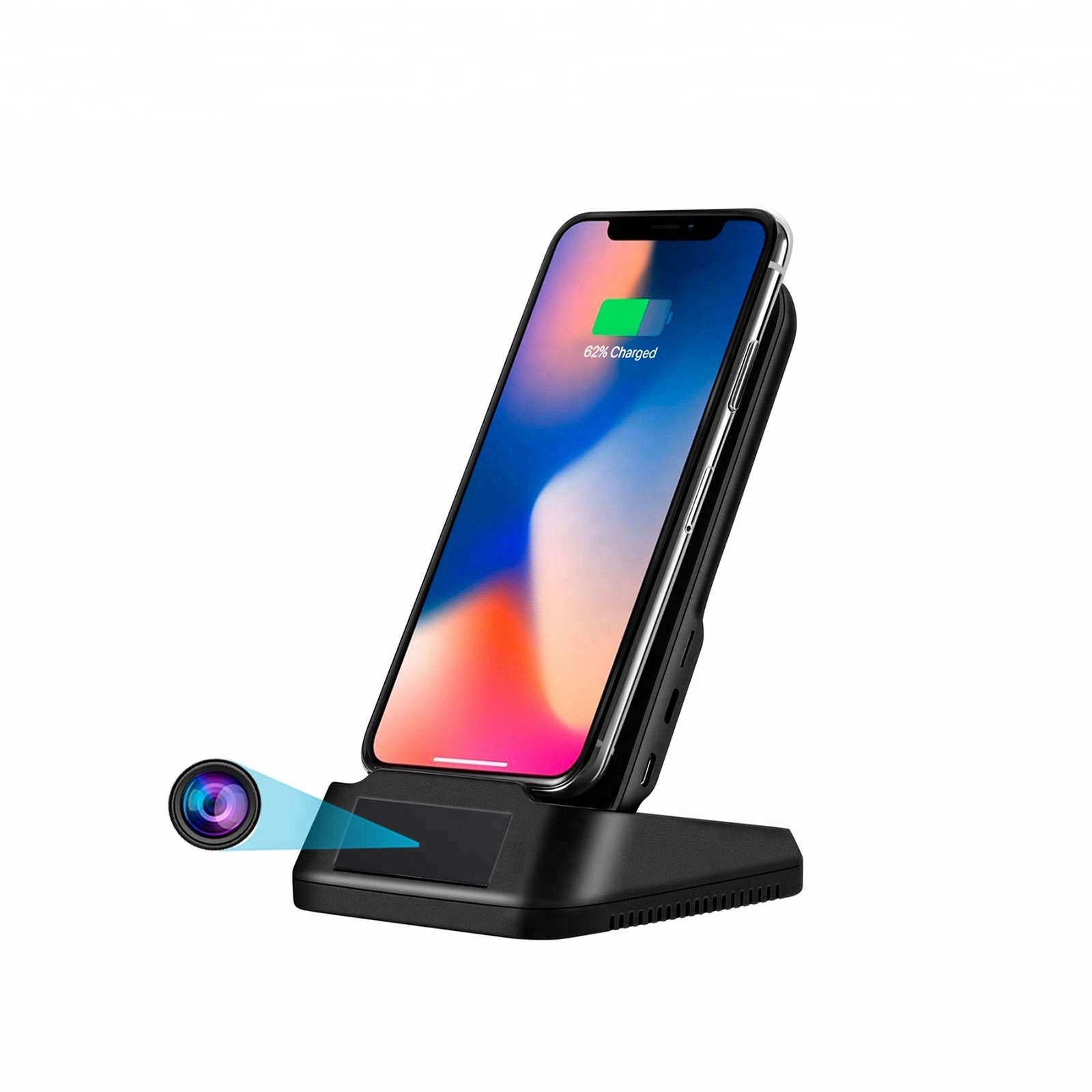 1080p HD <strong>WIFI</strong> Live Streaming Wireless charger Nanny Cam