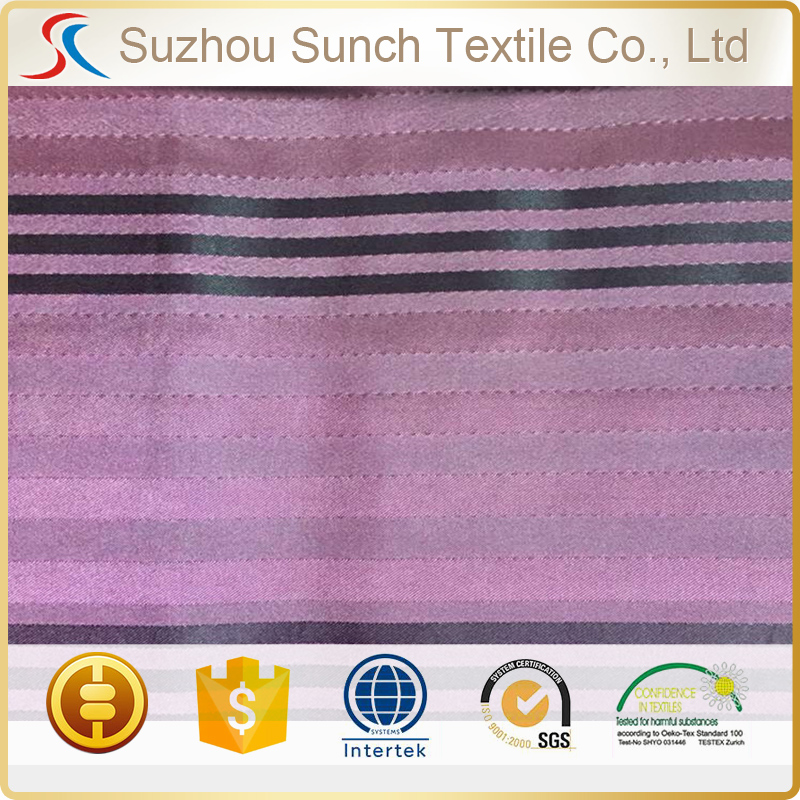 stripe 170t 190t 210t cheap lining fabric <strong>polyester</strong>