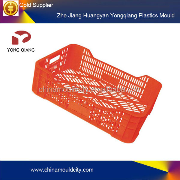 Beverage plastic crate mould