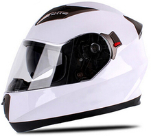 DOT&ECE certified motorcycle full face specialized helmet with double lens