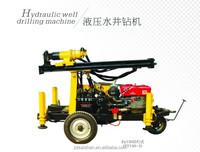 130m depth portable water well drilling rig for sale FY130 model made in China