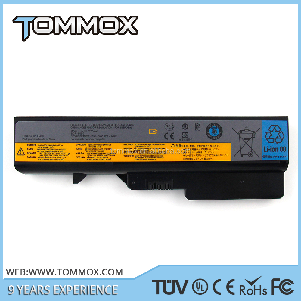 6 cell replacement Laptop Computer Battery For Lenovo G460 G470 G560 G570 Series